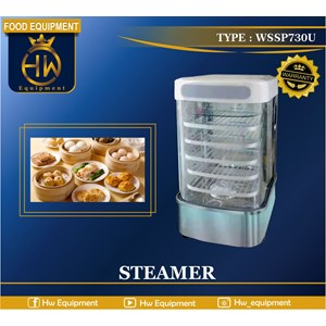 Mesin Steamer Makanan (Bakpao & Dimsum) tipe WSSP730U
