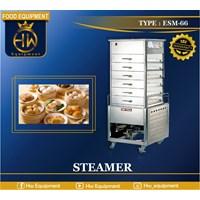 Mesin Steamer Makanan (Bakpao & Dimsum) tipe ESM-66