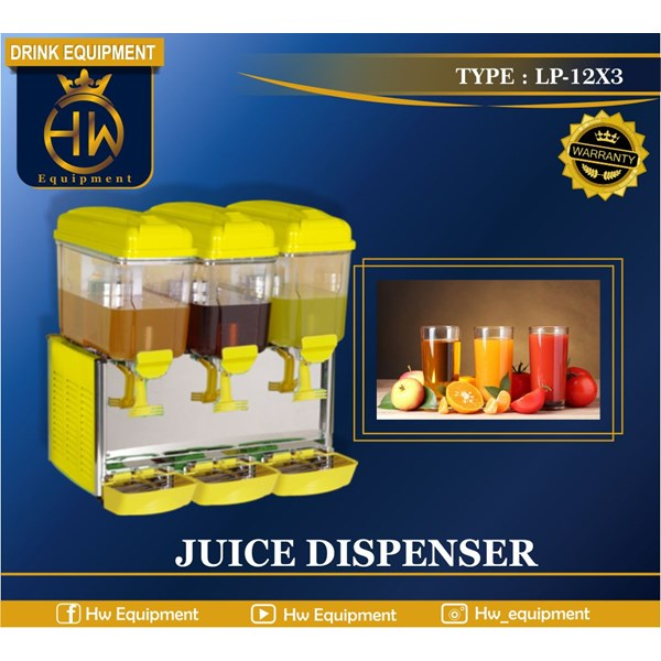 Mesin Juice Dispenser Tipe LP-12x3