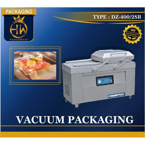 Vacuum Packing / Pengepakan Vakum / Mesin Vakum Tipe  DZ-400/2SB