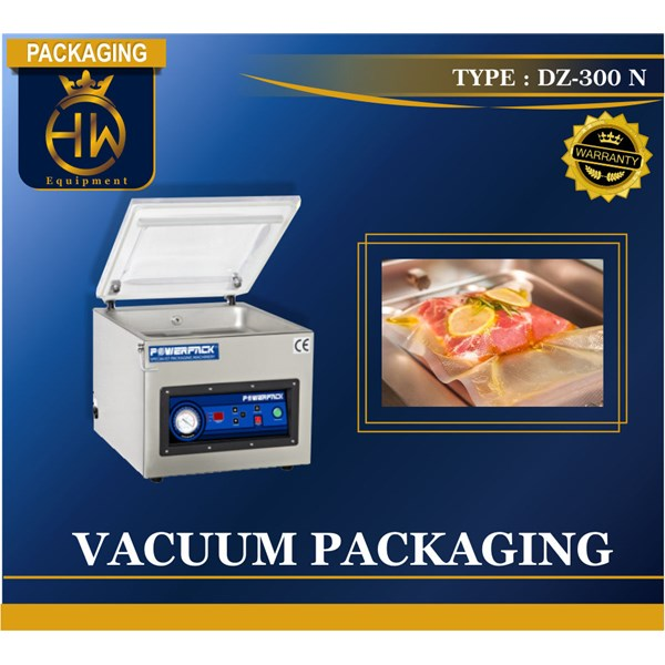 Vacuum Packing / Pengepakan Vakum / Mesin Vakum Tipe DZ-300 N