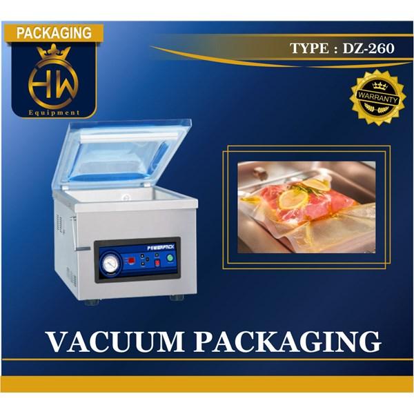 Vacuum Packing / Pengepakan Vakum / Mesin Vakum Tipe DZ-260