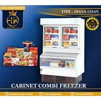 Refrigeration Cabinet Combi Frezzer DIANA-125AN