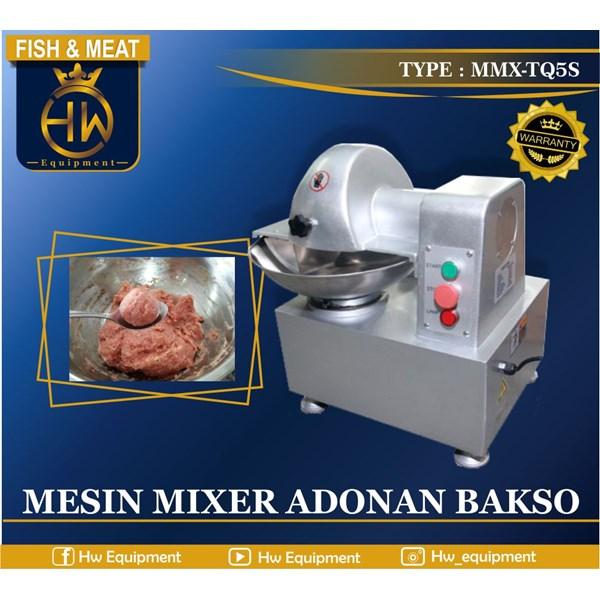 Mesin Pengolah Bakso Otomatis Bowl Cutter tipe MMX-TQ5S