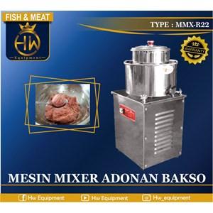 Mesin Pengolah Bakso Otomatis Meat Mixer Tipe MMX-R22