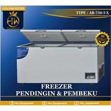 cooler and freezer