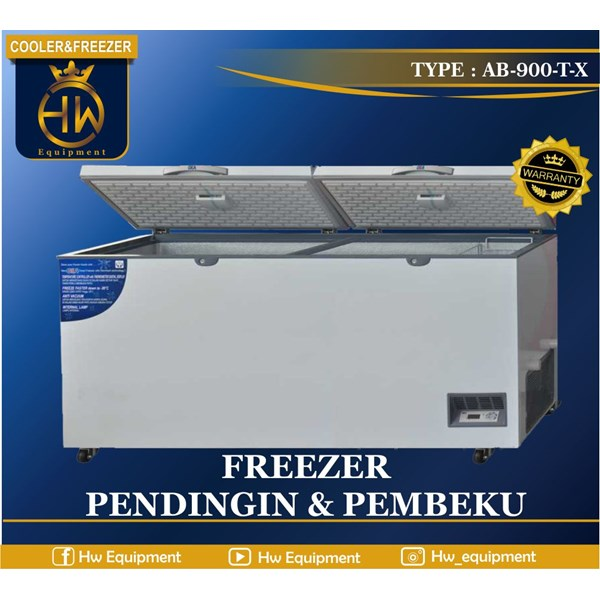 cooler and freezer