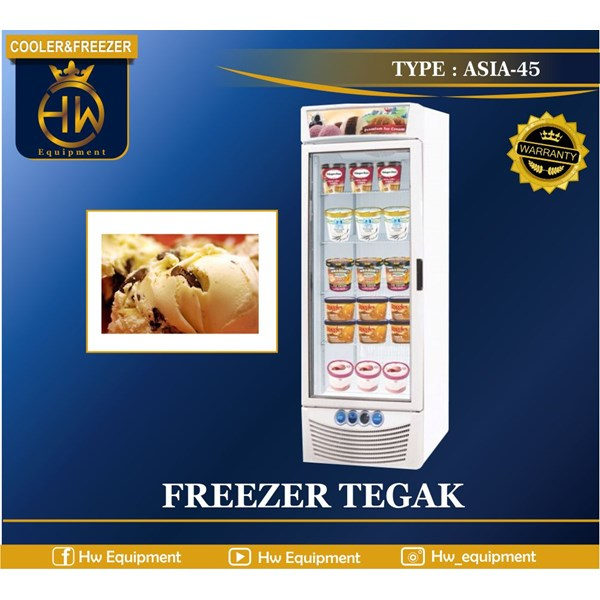mesin pendingin (freezer tegak) tipe ASIA-45