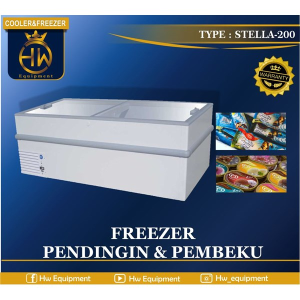 COOLER AND FREEZER TYPE STELLA-200