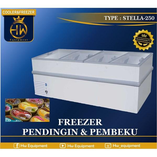 mesin pendingin (cooler and freezer) tipe STELLA-250