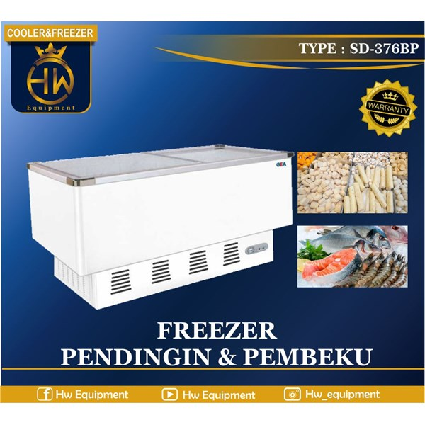 mesin pendingin (cooler and freezer) TIPE SD-376BP