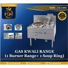 Gas Kwali Range tipe CS-1095 Blower Kwali Range (1 burner + 1 soup tank) 1