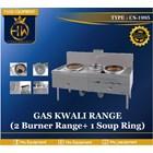 Gas Kwali Range / Blower Kwali Rangetipe CS-1995 (2 burner +1 soup tank) 1