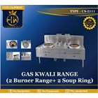 Gas Kwali Range/Blower Kwali Range tipe CS-2111 (2 burner + 2 soup tank) 1
