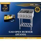 Kompor Gas Open Burner (stand) tipe RBD-4 1
