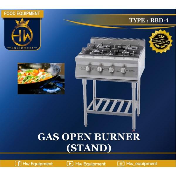 Kompor Gas Open Burner (stand) tipe RBD-4