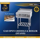 Gas Open Griddle & Boiler (Stand) tipe RPD-4 1