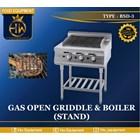 Gas Open Griddle & Boiler Tipe RSD-3 1