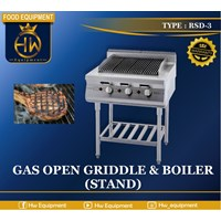 Gas Open Griddle & Boiler Tipe RSD-3