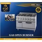 Kompor Gas Open Burner + Oven tipe RBJ-6 1