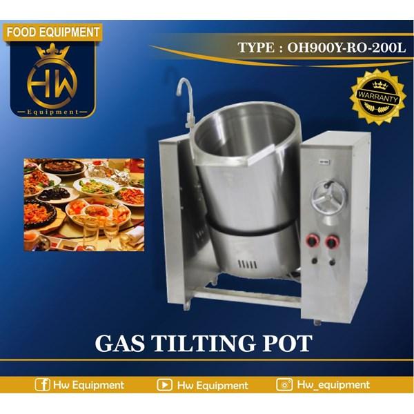 Mesin Penghangat Makanan (Gas Tilting Pot) tipe OH900Y-RO-200L