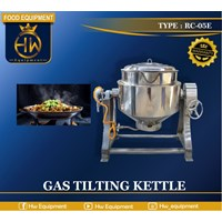 Heating Food Machine / Gas Tilting Kettle type RC-05E