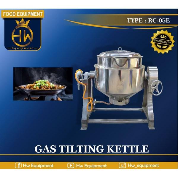 Mesin Penghangat Makanan / Gas Tilting Kettle tipe RC-05E