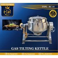 Mesin Penghangat Makanan / Gas Tilting Kettle tipe RC-1E