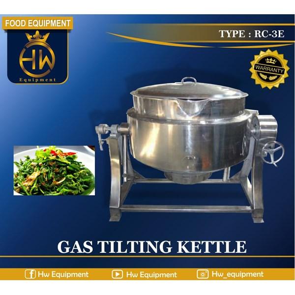Mesin Penghangat Makanan / Gas Tilting Kettle tipe RC-3E