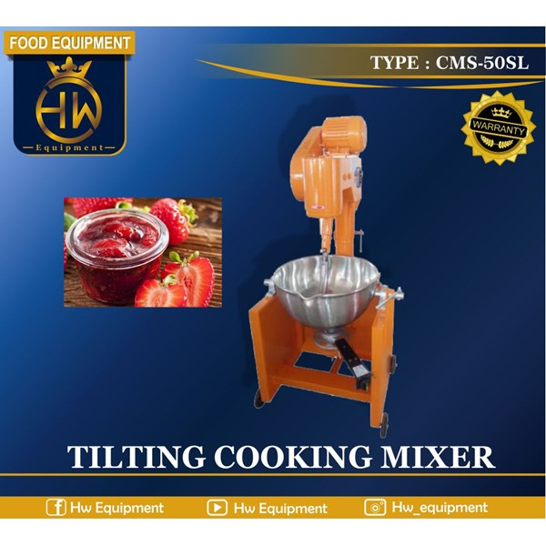 Mesin Pengaduk Makanan / Tilting Cooking Mixer tipe CMS-50SL