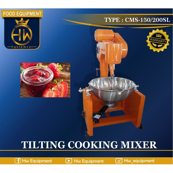 Mesin Pengaduk Makanan / Tilting Cooking Mixer tipe CMS-200SL