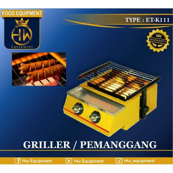 Mesin Pemanggang Sosis - Gas Griller tipe ET-K111