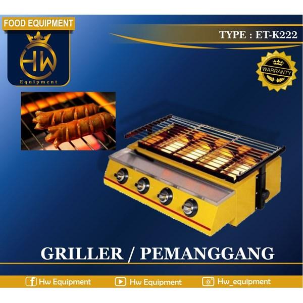 Mesin Pemanggang Sosis - Gas Griller tipe ET-K222