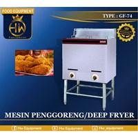 Mesin Penggoreng / Gas Deep Fryer tipe GF-74