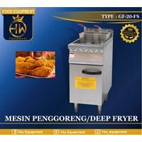 Mesin Penggorengan / Gas Deep Fryer tipe GF-20-FS