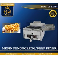 Mesin Penggorengan / Gas Deep Fryer tipe GF-17MP