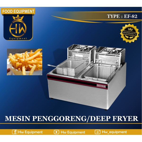 Mesin Penggorengan / Electric Deep Fryer tipe EF-82