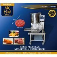 Mesin Pengiris Daging Ham / Pencetak Daging Ham tipe PATTY-100-III