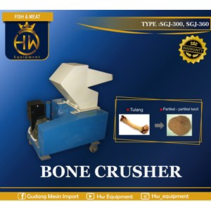 Dari Mesin Pemotong Tulang / Bone Crusher tipe SGJ-360  0