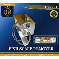 Mesin Pengolah Ikan / Pengupas Sisik Ikan tipe FS-1