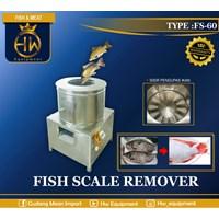 Mesin Pengolah Ikan / Pengupas Sisik Ikan tipe SF-60