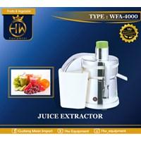 Juicer- Juice Extractor Untuk Usaha/Industri tipe WFA-4000