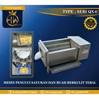 Mesin Pengupas Kentang / Umbi-umbian dan Pencuci Buah tipe QX-618