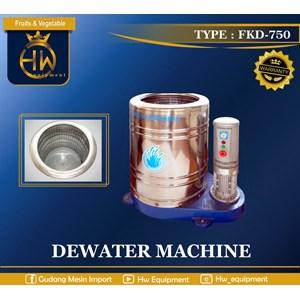 Mesin Pengering Makanan / Pengurang Kadar Air - Peniris Air (Dewater) tipe FKD-750