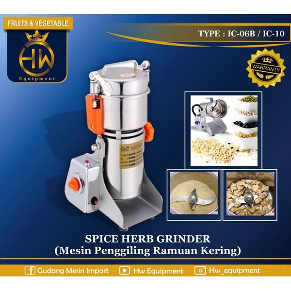 Mesin Giling Ramuan Herbal / Rempah tipe IC-10B