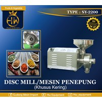Mesin Penepung / DIsc Mill GETRA tipe SY-2200