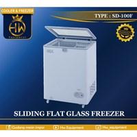 Chest Freezer Lift-Up Glass Door tipe SD-100F