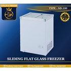 Chest Freezer Sliding Flat Glass tipe SD-100  1
