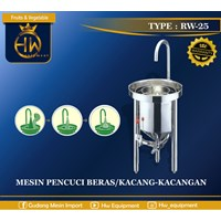 Mesin Pencuci beras / kacang-kacangan tipe RW-25