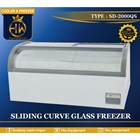 Mesin Pendingin / Freezer Pintu Kaca Melengkung tipe SD-2000QS 1